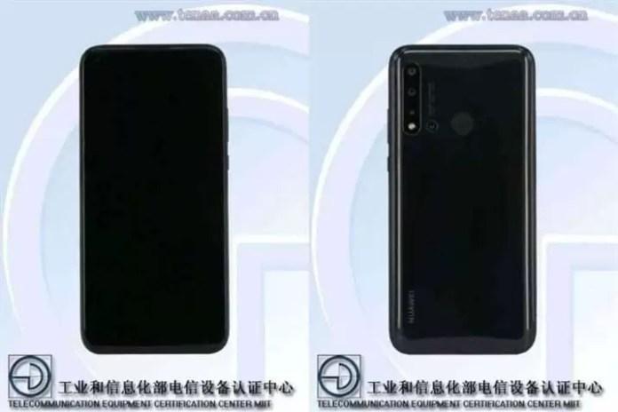 Huawei Nova 5i TENAA