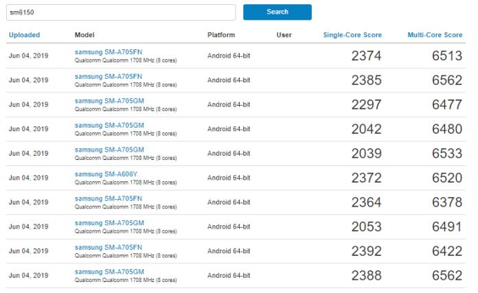 Samsung Galaxy A90 aparece no Geekbench com SD730 ou SD730G? 2