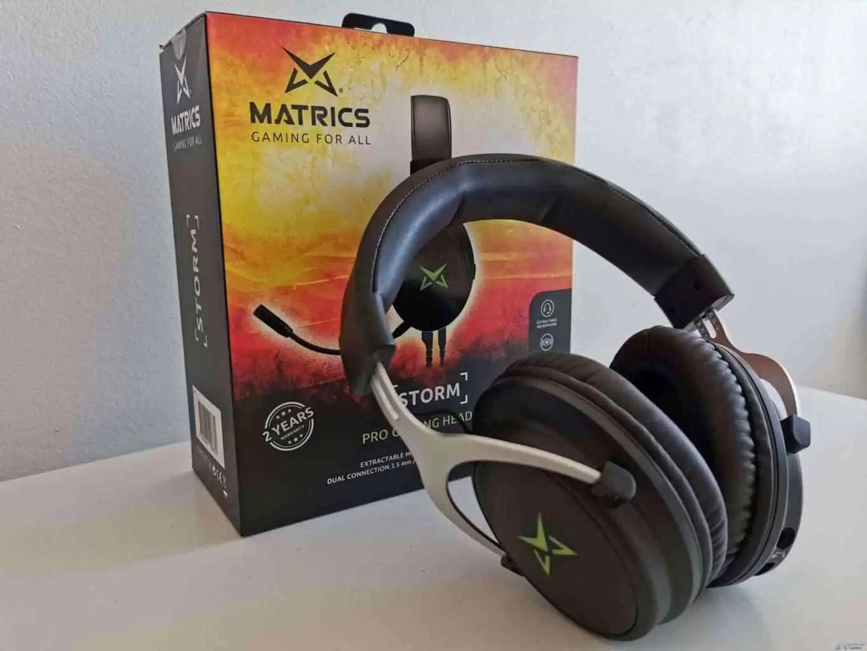 Análise Matrics Storm Pro Gaming Headphones que vão adorar conhecer 25