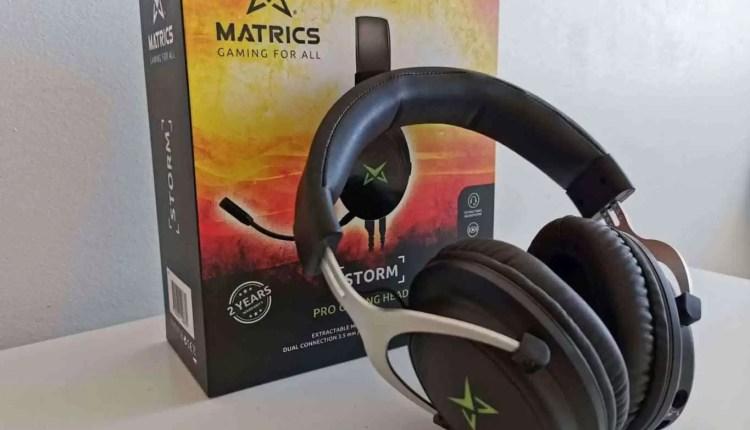 Análise Matrics Storm Pro Gaming Headphones que vão adorar conhecer 17