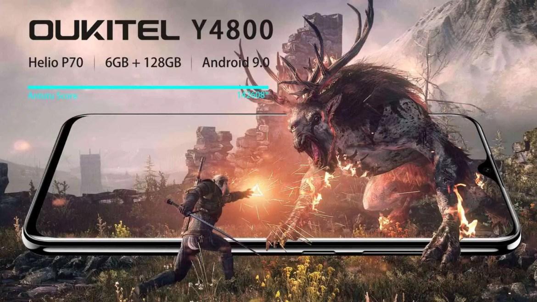 OUKITEL Y4800 VS Redmi Note 7 Teste Antutu confirma Poder do Soc Helio P70 1