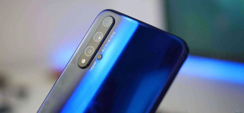 Honor 20 confirmado com Android Q 1