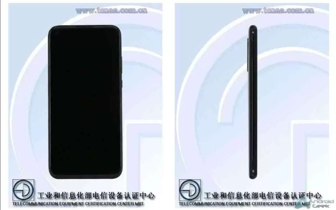 Huawei nova 5i fotos na TENAA confirmam quatro câmaras 1