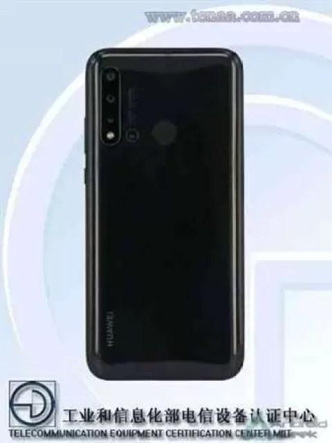Huawei nova 5i fotos na TENAA confirmam quatro câmaras 2