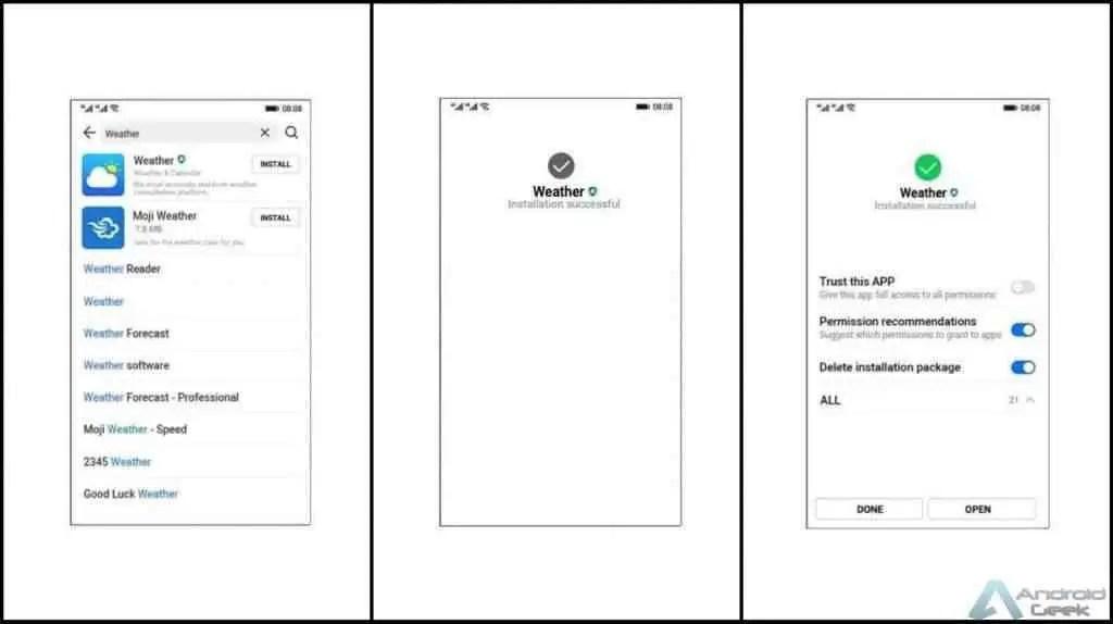 Ark OS da Huawei : temos screenshots do que o sistema operativo pode ser 3