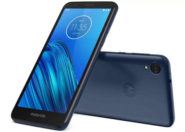 Motorola Moto E6, design