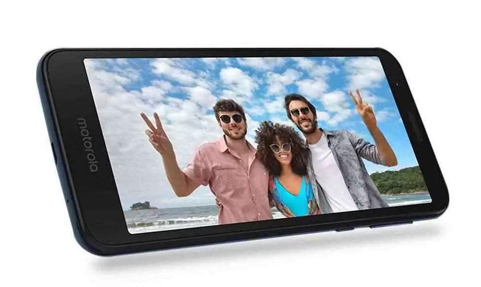 Motorola Moto E6, tela
