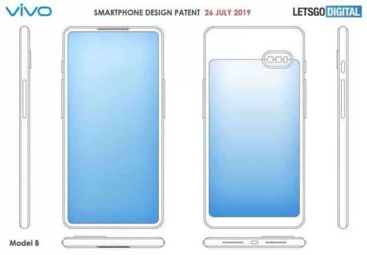 Vivo regista patente para dois novos designs, de telefones com ecrã duplo 2