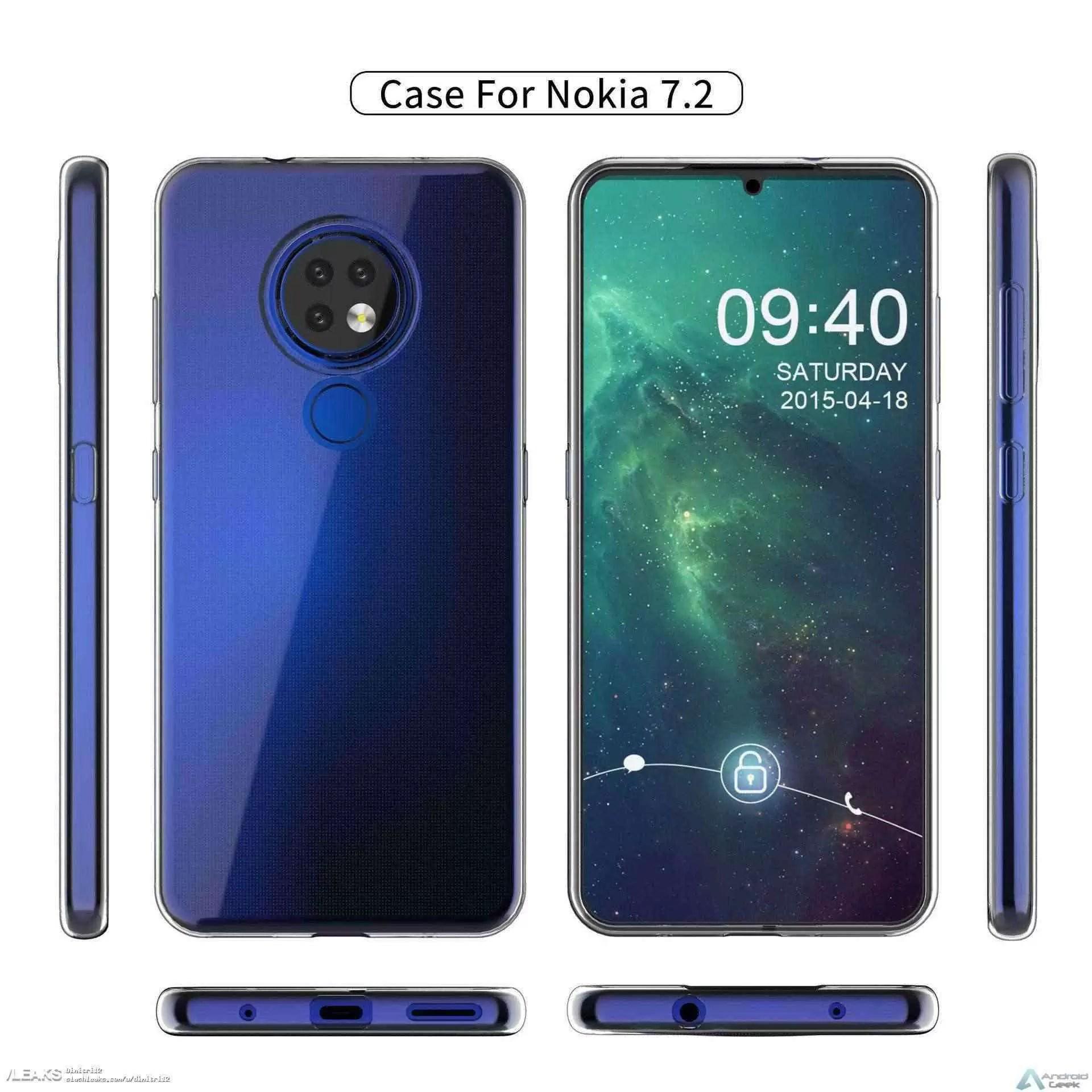 Render case Nokia 7.2