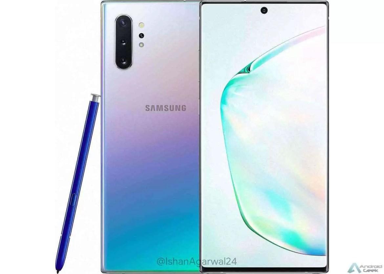 Fundo de tela Samsung Galaxy Note 10