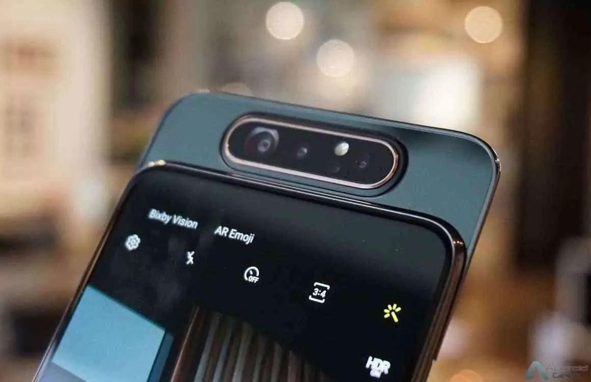 A Era do Live começa agora: Galaxy A80 chega às lojas 2