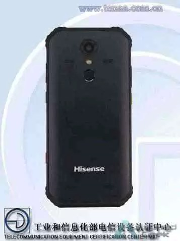 Hisense D6 um telefone robusto com bateria de 5400mAh aparece na TENAA 3