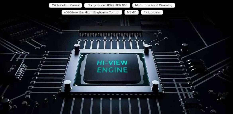 Análise TV Hisense H55U8B. Premium a bom preço 12