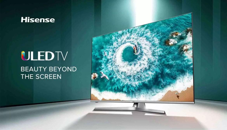 Análise TV Hisense H55U8B. Premium a bom preço 2