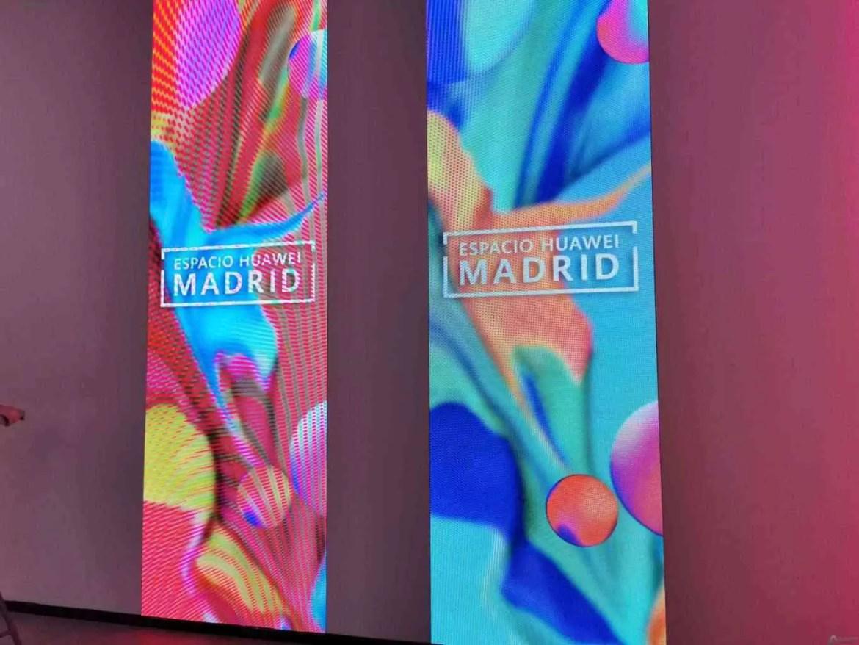 Huawei abre gigantesco Espacio Madrid 1