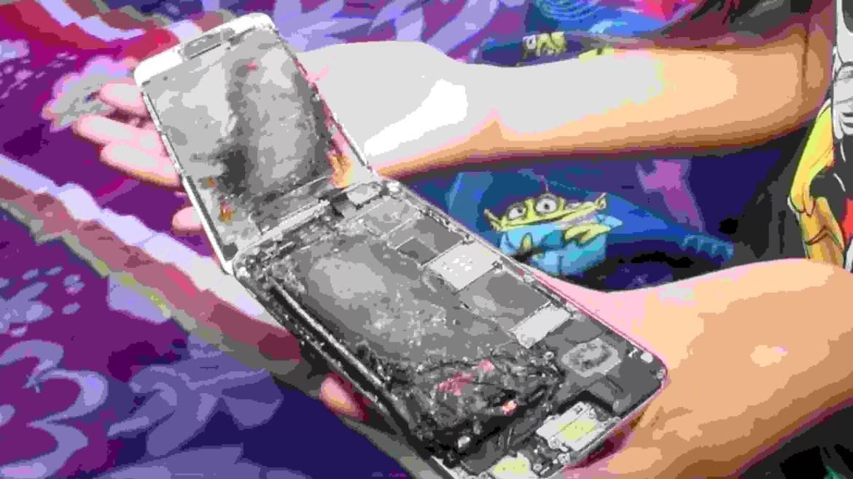 Um iPhone 6 de uma menina de 11 anos começou a arder subitamente 1