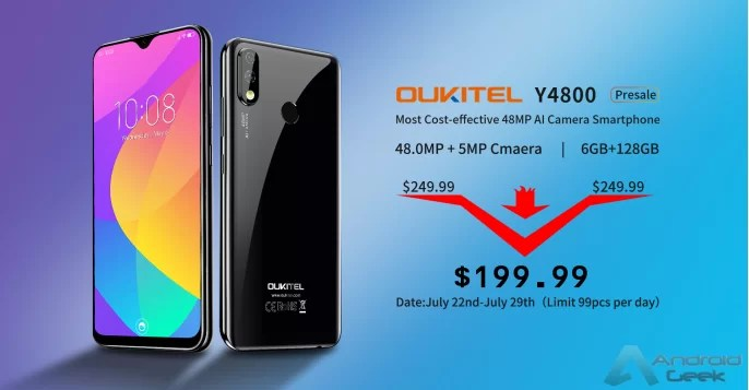 OUKITEL Y4800 é finalmente oficial! 1