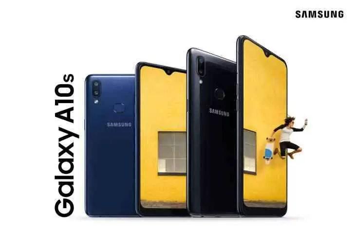 Samsung anuncia o Galaxy A10s - bateria de 4.000 mAh e leitor de impressões digitais