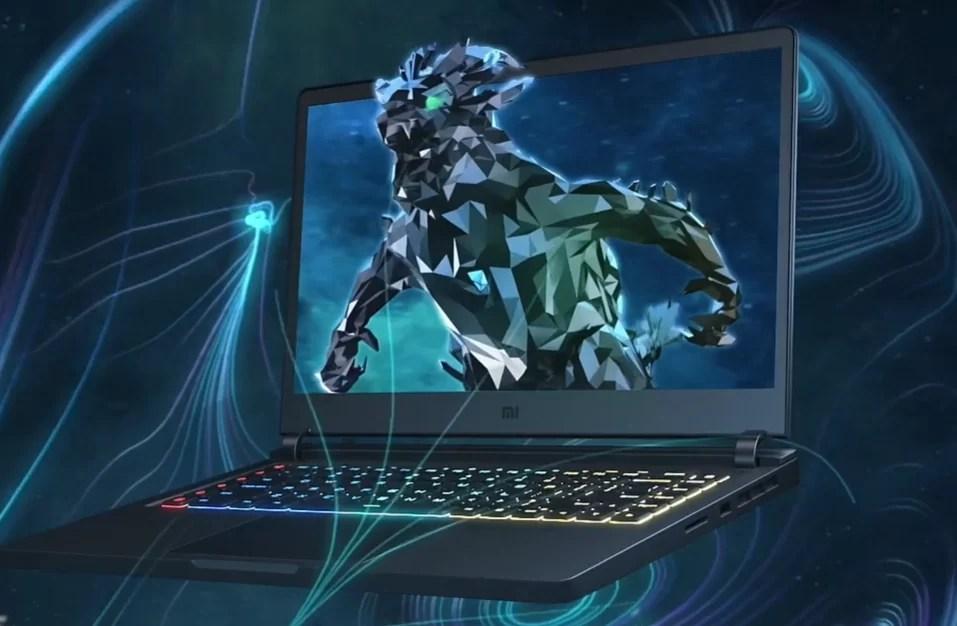 Laptop de jogos Mi 2019