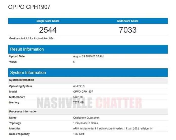 OPPO Reno2 (CPH1907) recebe certificação Bluetooth e revela principais especificações 3