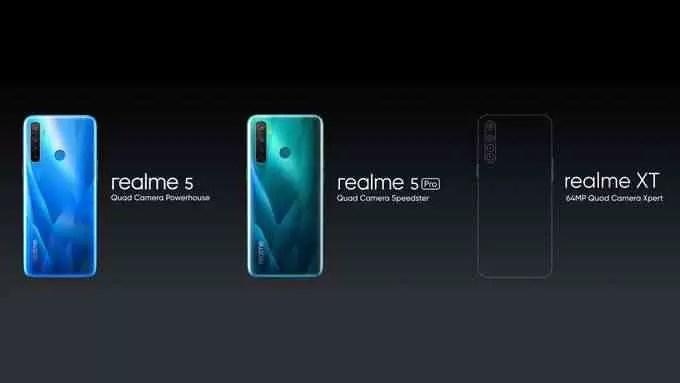 Realme 5 e Realme 5 Pro revelados na Índia; Especificações, características e preços 3