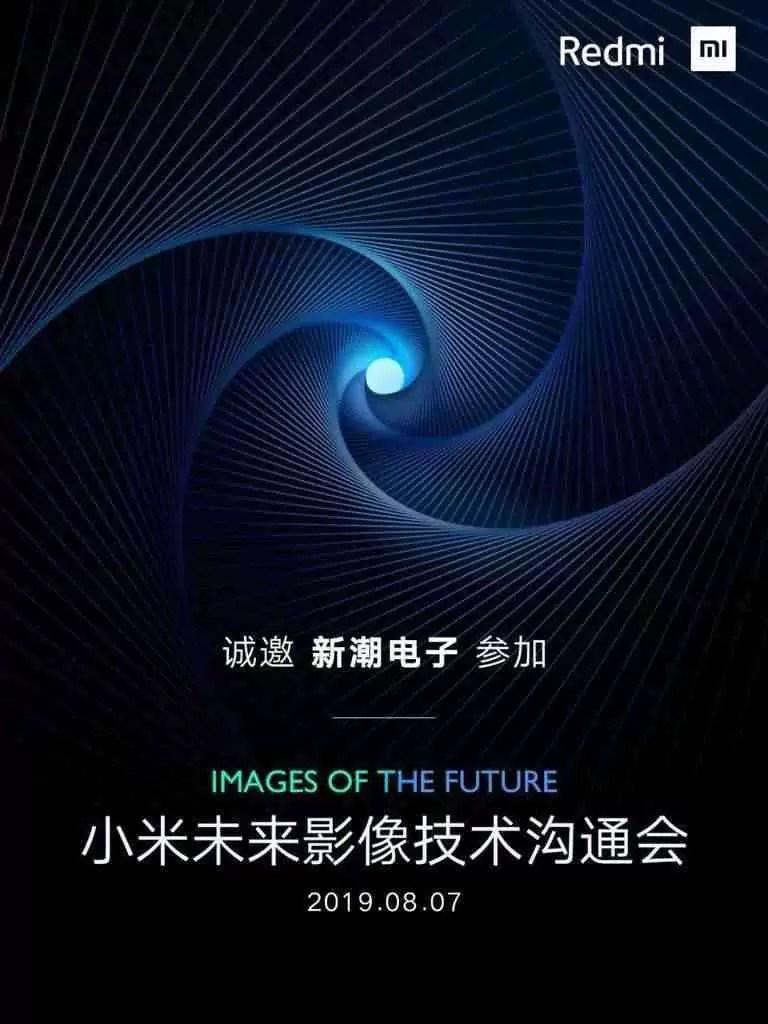 Redmi 7 de agosto de lançamento