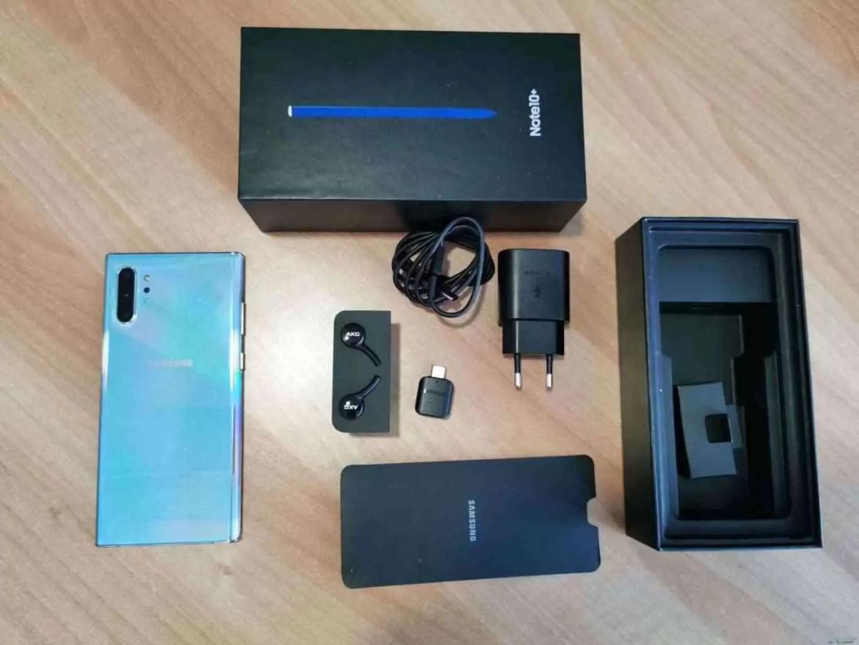 Análise Samsung Galaxy Note 10 Plus. Pacote completo do melhor que a indústria tem 3