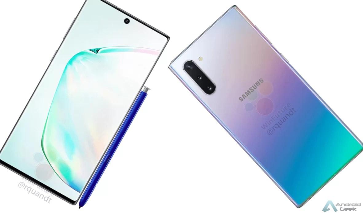 Galaxy Note10 em destaque