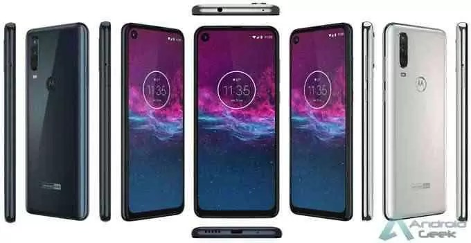 Motorola One Action render