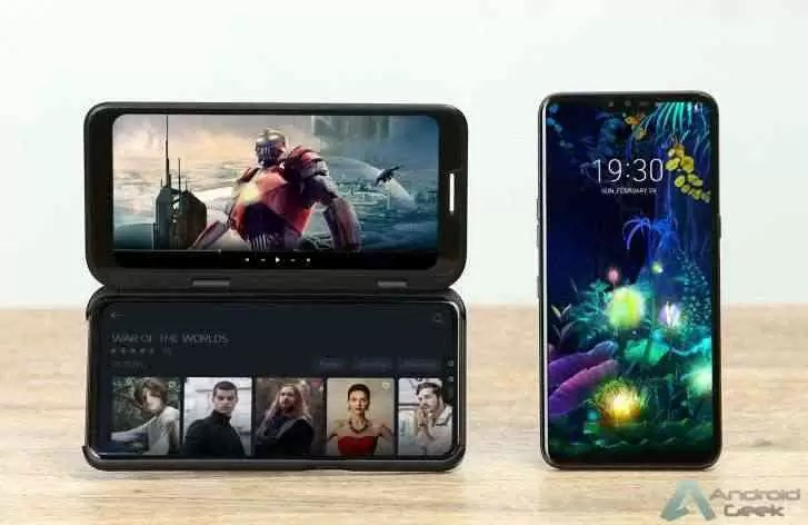 O telefone dobrável da LG poderia ser algo assim?