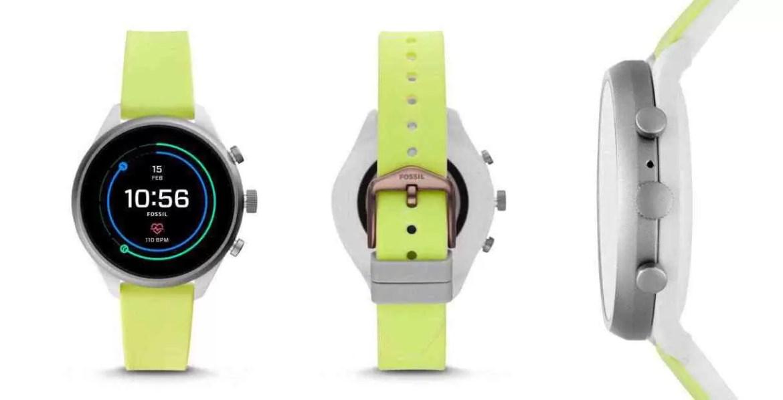Fossil Sport, smartwatch esportivo com WearOS e Snapdragon 3100