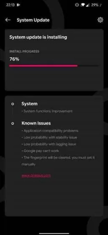 Changelog de Android Q Developer Preview 4 para OnePlus 6, 6T, 7, 7 Pro