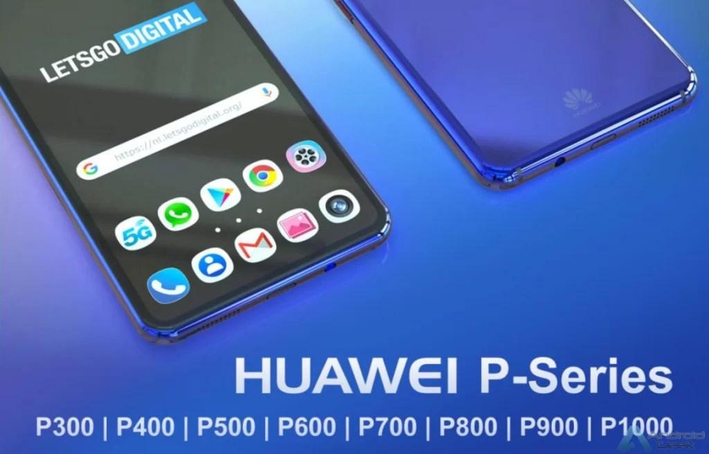 Huawei regista mais marcas: P600 a P1000 1