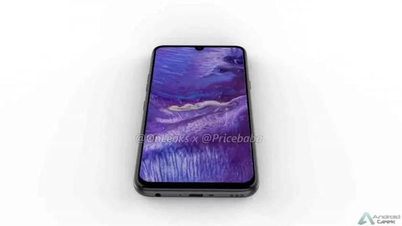 Imagens LG G8X mostram um ecrã maior com um entalhe menor, jack de 3,5 mm 3