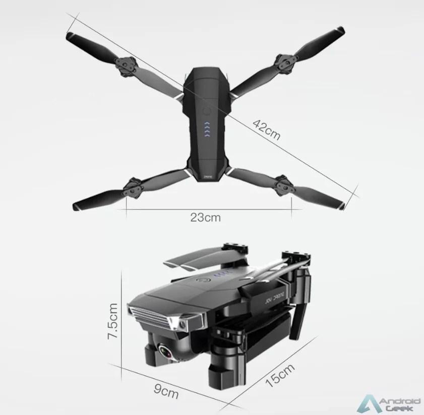 SG901 Dronecom câmara dupla e bateria de longa duração com 45% de desconto! Agarra o teu código de desconto 5