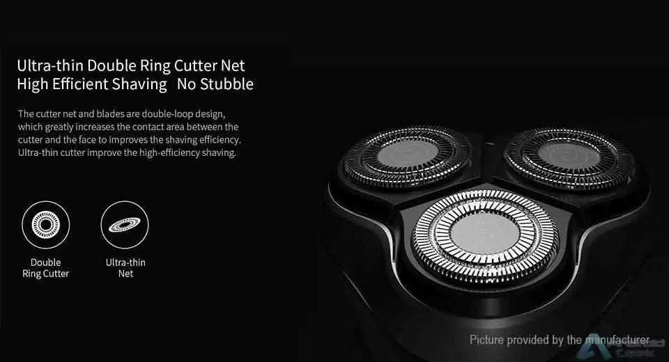 Xiaomi Black Stone 3D Electric Shaver é o Gadget da Xiaomi que pode ser vosso por 14€ 2