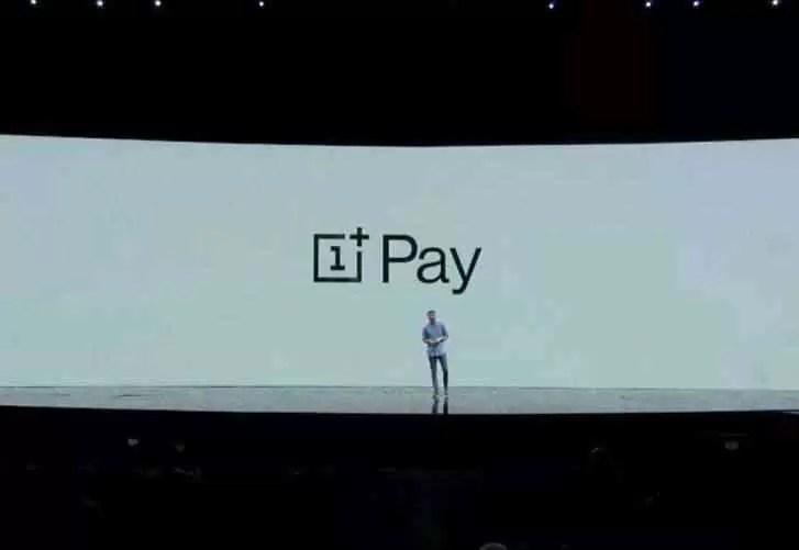 OnePlus Pay anunciado, chegando no próximo ano