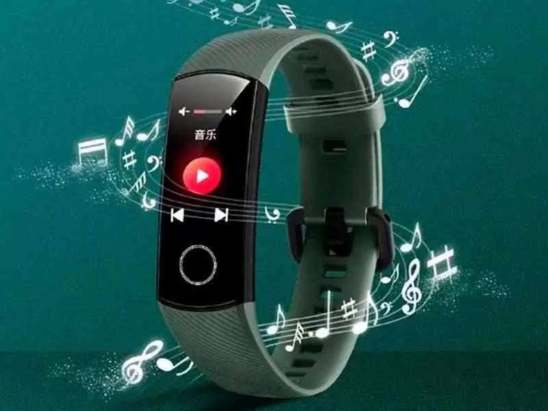 O Honor Band 5 é atualizado com o controle de música do smartphone!