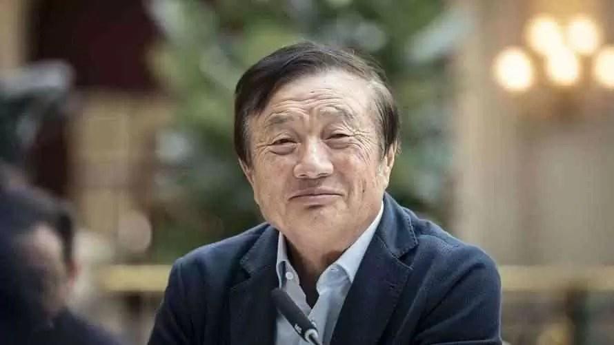 Zhengfei Ren, fundador e CEO da Huawei