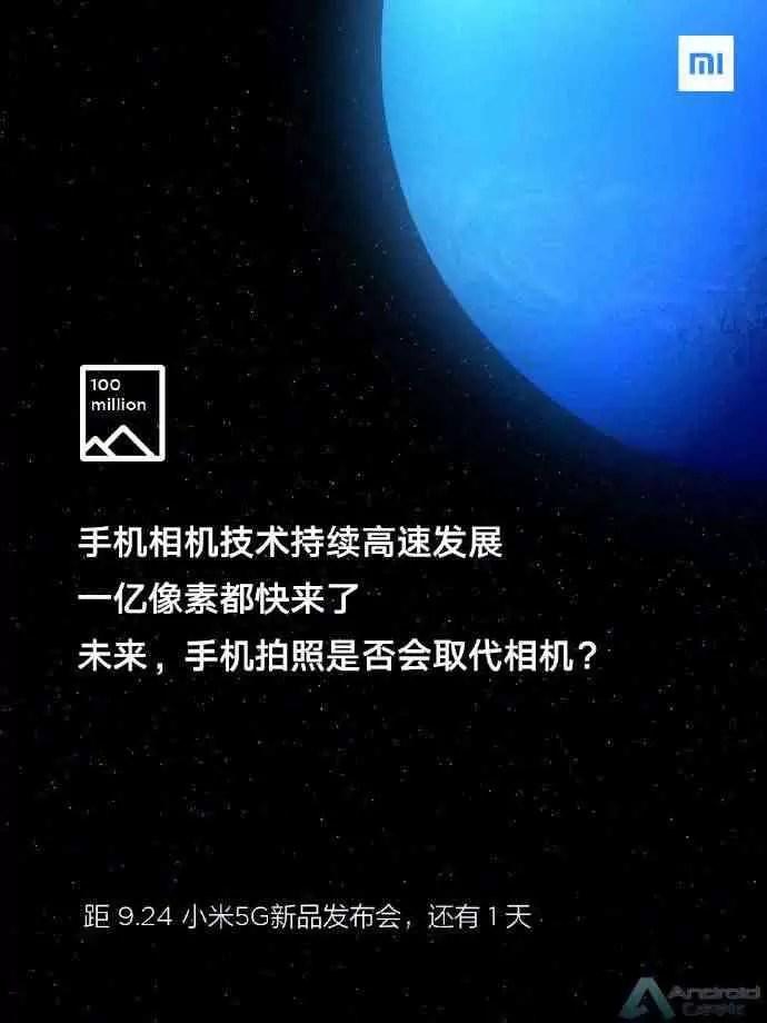 Xiaomi Mi MIX Alpha 100 MP Câmera Confirmada