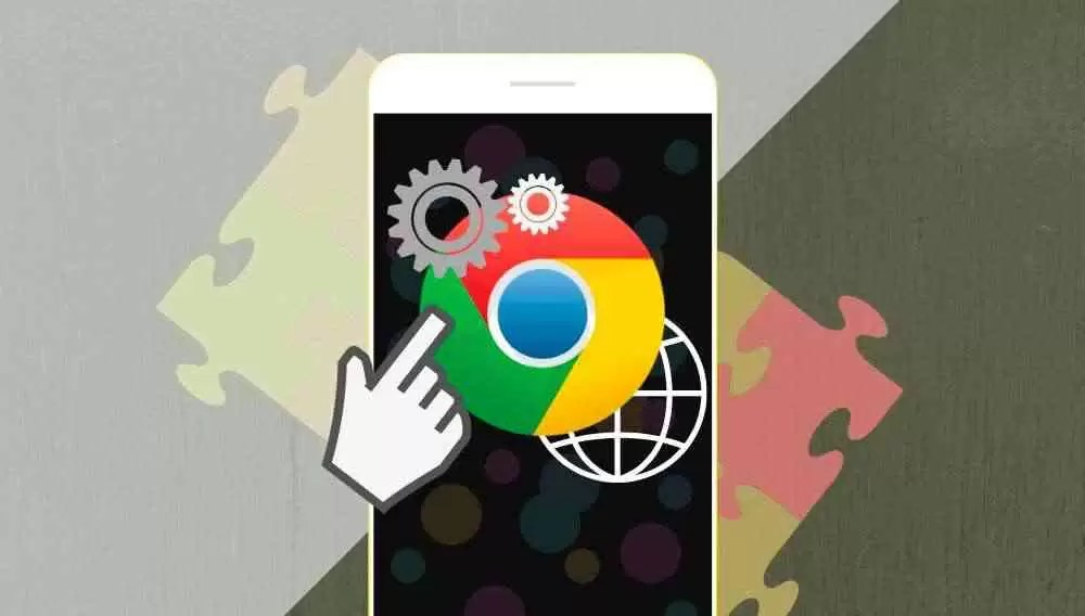 Extensões do Google Chrome no seu celular com o navegador Kiwi