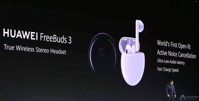 Huawei anuncia um novo e elegante Huawei Watch GT 2, e FreeBuds 3 4