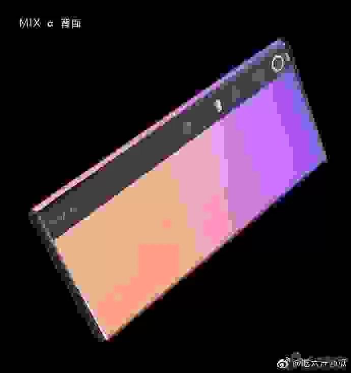Novas imagens do Xiaomi Mi Mix Alpha mostram um ecrã curvo que se estende até à parte de trás do telefone 3