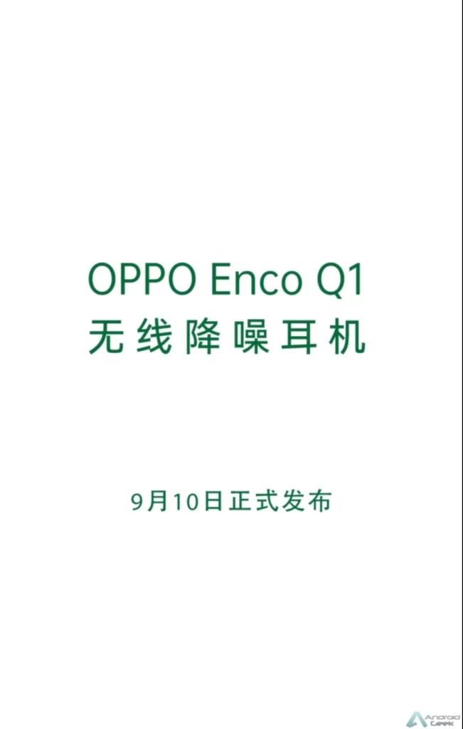 OPPO ENCO Q1 headset será lançado oficialmente a 10 de setembro 4