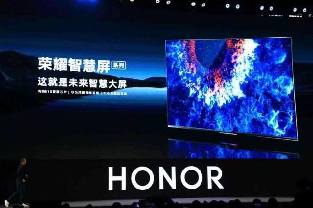 Honra a visão de TV de tela inteligente