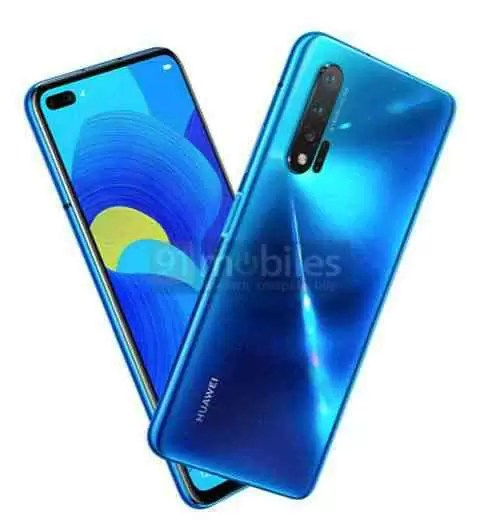 Huawei nova 6 5G pode estar a caminho, tem uma câmera selfie dupla