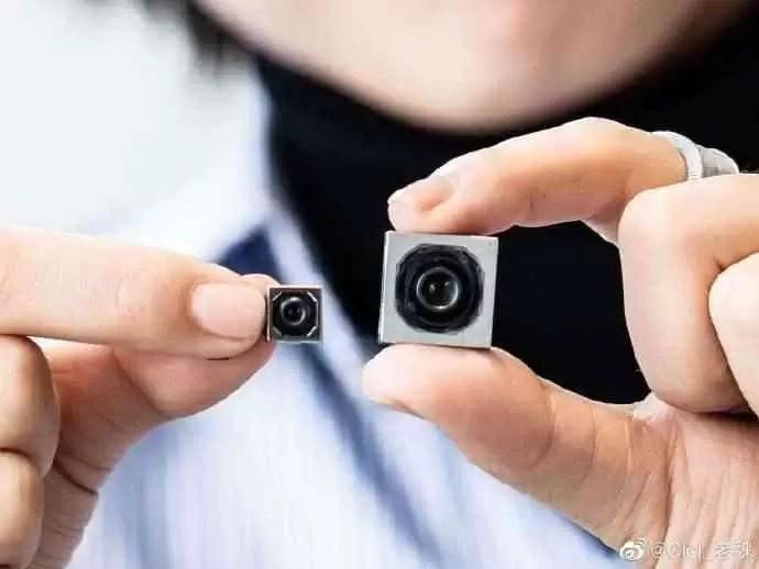 Câmera Mi CC9 Pro 108MP vs sensor padrão de 12MP b