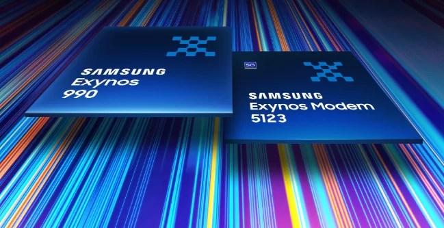Modem Samsung Exynos 990 + Exynos 5123