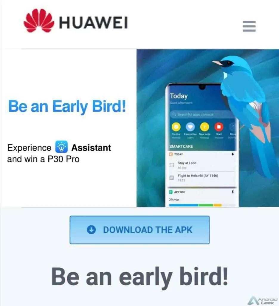 Huawei Assistant para matar a Google App já está disponível para download aqui 1