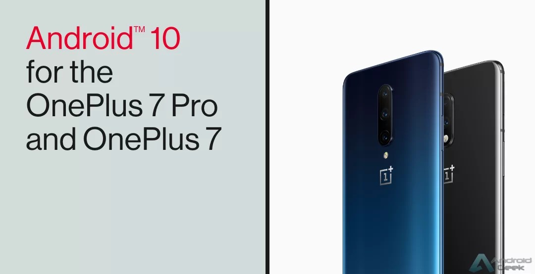Android 10 OxygenOs 10 OnePlus 7 Pro